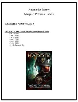 Comprehension Test - Among the Enemy (Haddix)