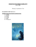Comprehension Test - Artemis Fowl: The Atlantis Complex (Colfer)