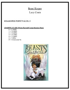 Comprehension Test - Beast Keeper (Coats)