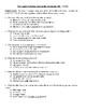 Comprehension Test - Beyond the Kingdoms (Colfer)