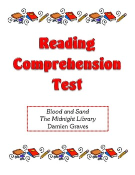 Comprehension Test - Blood and Sand (Graves)