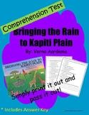Comprehension Test: Bringing the Rain to Kapiti Plain - Fi