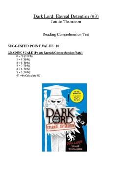 Comprehension Test - Dark Lord: Eternal Detention (Thomson)