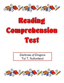 Comprehension Test - Darkness of Dragons (Sutherland)