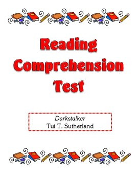 Comprehension Test - Darkstalker (Sutherland)