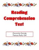 Comprehension Test - December Secrets (Giff)