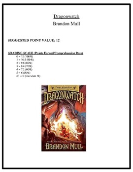 Comprehension Test - Dragonwatch (Mull)