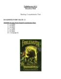 Comprehension Test - Fablehaven (Mull)