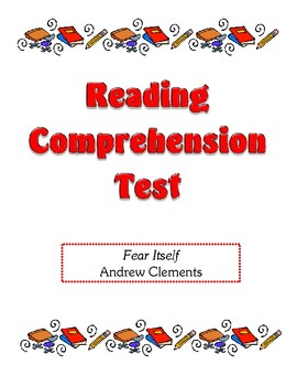 Comprehension Test - Fear Itself (Clements)