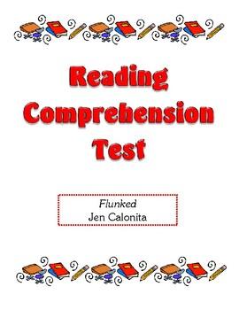 Comprehension Test - Flunked (Calonita)