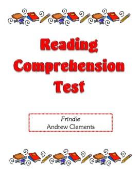 Comprehension Test - Frindle (Clements)