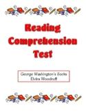 Comprehension Test - George Washington's Socks (Woodruff)