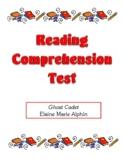 Comprehension Test - Ghost Cadet (Alphin)