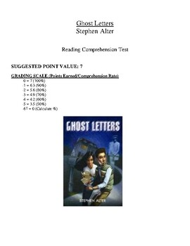 Comprehension Test - Ghost Letters (Alter)