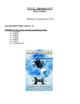 Comprehension Test - HIVE: Aftershock (Walden)