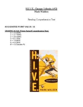 Comprehension Test - H.I.V.E.: Escape Velocity (Walden)