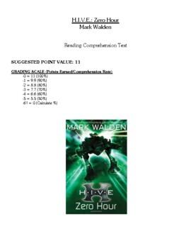 Comprehension Test - H.I.V.E.: Zero Hour (Walden)