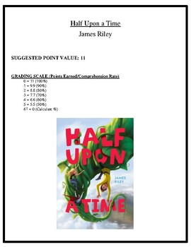 Comprehension Test - Half Upon a Time (Riley)