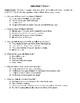 Comprehension Test - Halt's Peril (Flanagan)