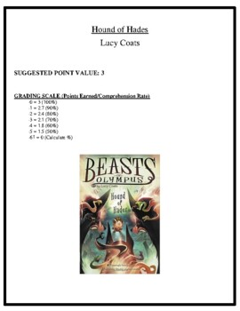 Comprehension Test - Hound of Hades (Coats)