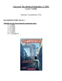 Comprehension Test - I Survived the Attacks of September 11, 2001 (Tarshis)