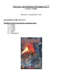 Comprehension Test - I Survived the Destruction of Pompeii (Tarshis)