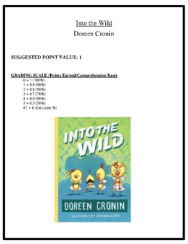 Comprehension Test - Into the World (Cronin)