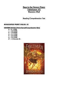 Comprehension Test - Keys to the Demon Prison (Mull)