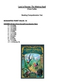 Comprehension Test - Land of Stories: The Wishing Spell (Colfer)