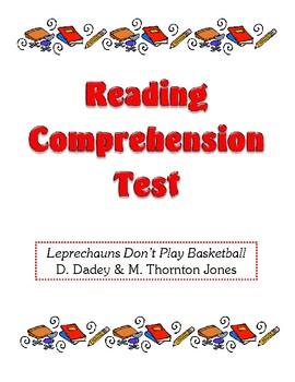Comprehension Test - Leprechauns Don't Play Basketball (Dadey/Thornton Jones)
