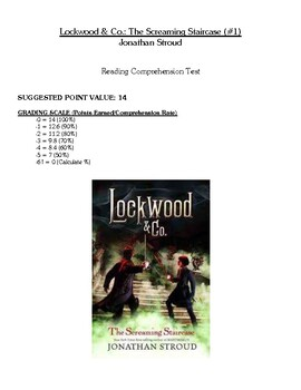 Comprehension Test - Lockwood & Co: The Screaming Staircase (Stroud)