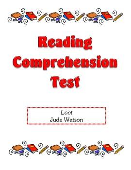 Comprehension Test - Loot (Watson)