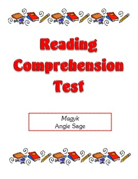 Comprehension Test - Magyk (Sage)