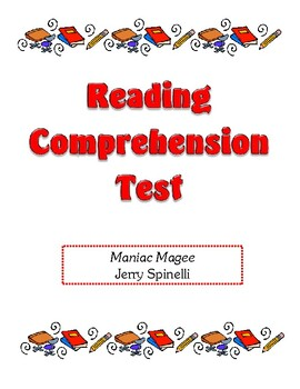 Comprehension Test - Maniac Magee (Spinelli)