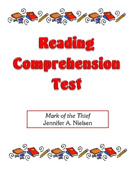 Comprehension Test - Mark of the Thief (Nielsen)