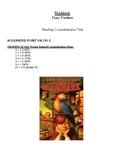 Comprehension Test - Mudshark (Paulsen)