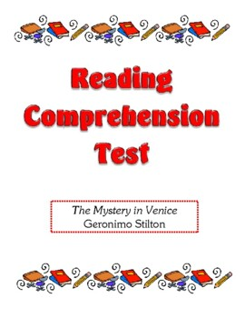 Comprehension Test - Mystery in Venice (Stilton)