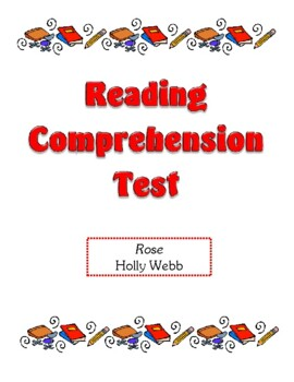 Comprehension Test - Rose (Webb)
