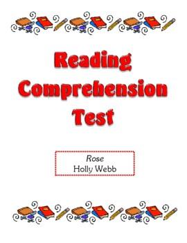 Comprehension Test - Rose (Webb)