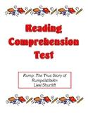 Comprehension Test - Rump: The True Story of Rumpelstiltskin (Shurtliff)