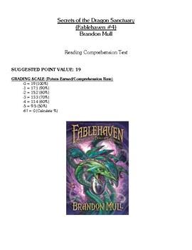 Comprehension Test - Secrets of the Dragon Sanctuary (Mull)
