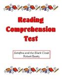 Comprehension Test - Serafina andthe Black Cloak (Beatty)