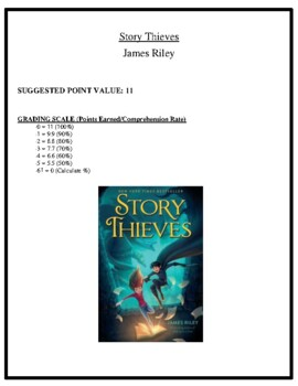 Comprehension Test - Story Thieves (Riley)