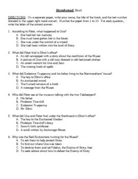 Comprehension Test - Storybound (Burt)