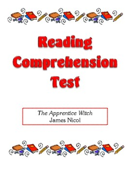 Comprehension Test - The Apprentice Witch (Nicol)