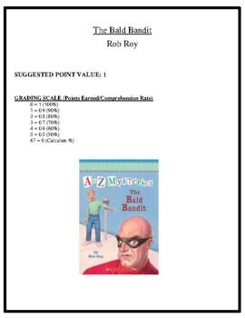 Comprehension Test - The Bald Bandit (Roy)