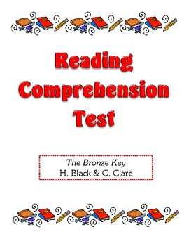 Comprehension Test - The Bronze Key (Black/Clare)