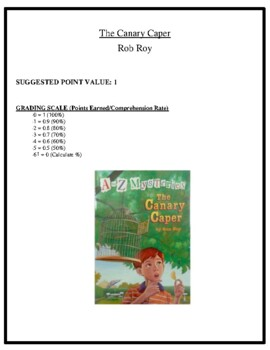Comprehension Test - The Canary Caper (Roy)