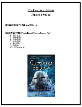 Comprehension Test - The Creeping Shadow (Stroud)