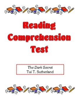 Comprehension Test - The Dark Secret (Sutherland)